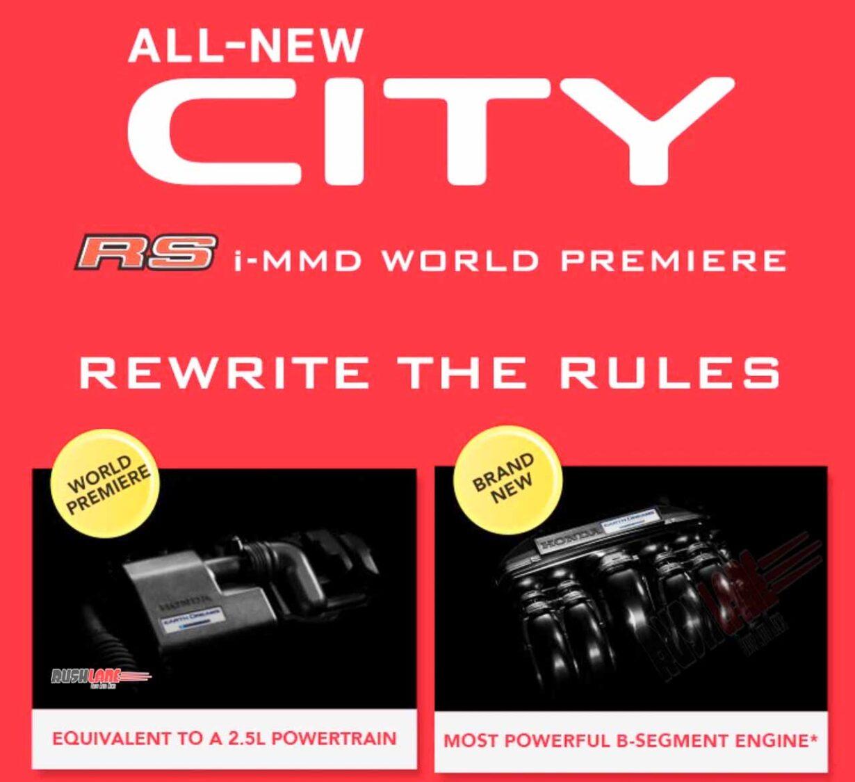 Honda City Hybrid iMMD India