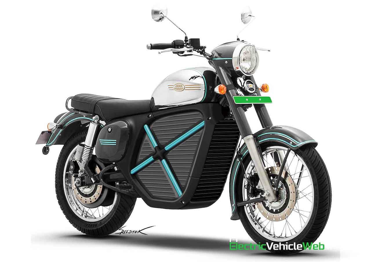 Jawa 42 Electric Motorcycle