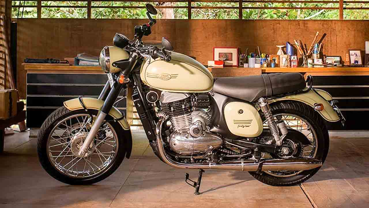 Jawa Motorcycle sales