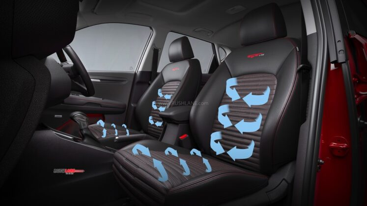 Kia Sonet Ventilated Seats
