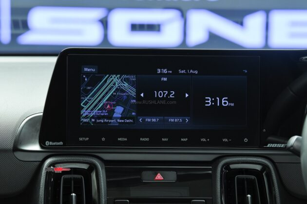 Kia Sonet Display