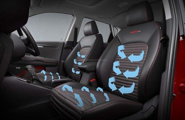 Kia Sonet Ventilated Front Seats