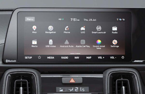 Kia Sonet Touchscreen