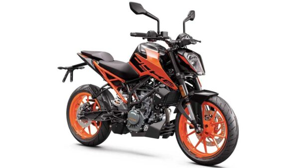 KTM Duke 200 US lanch