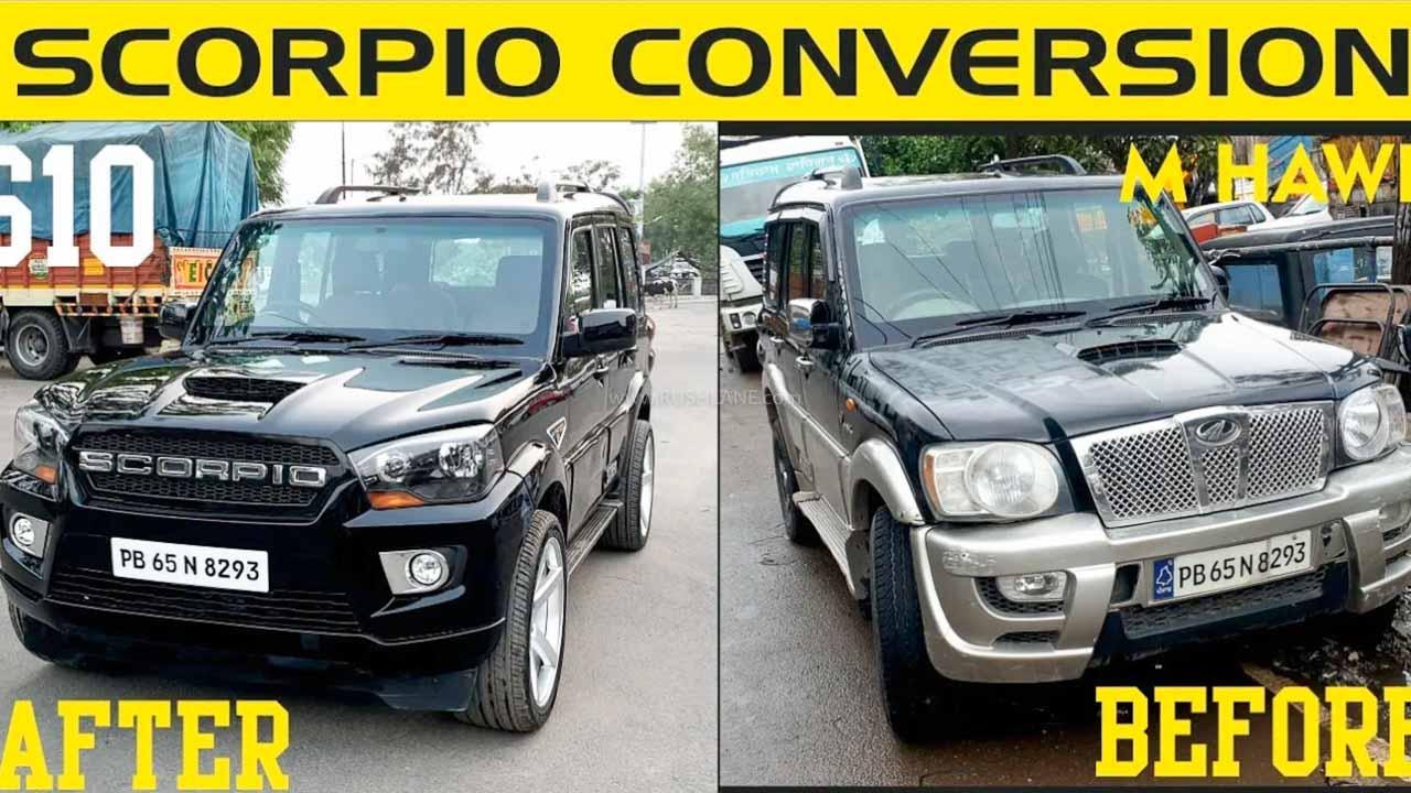 Mahindra Scorpio Old to New