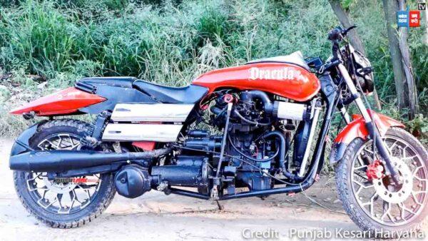 Maruti 800 Modified Motorcycle