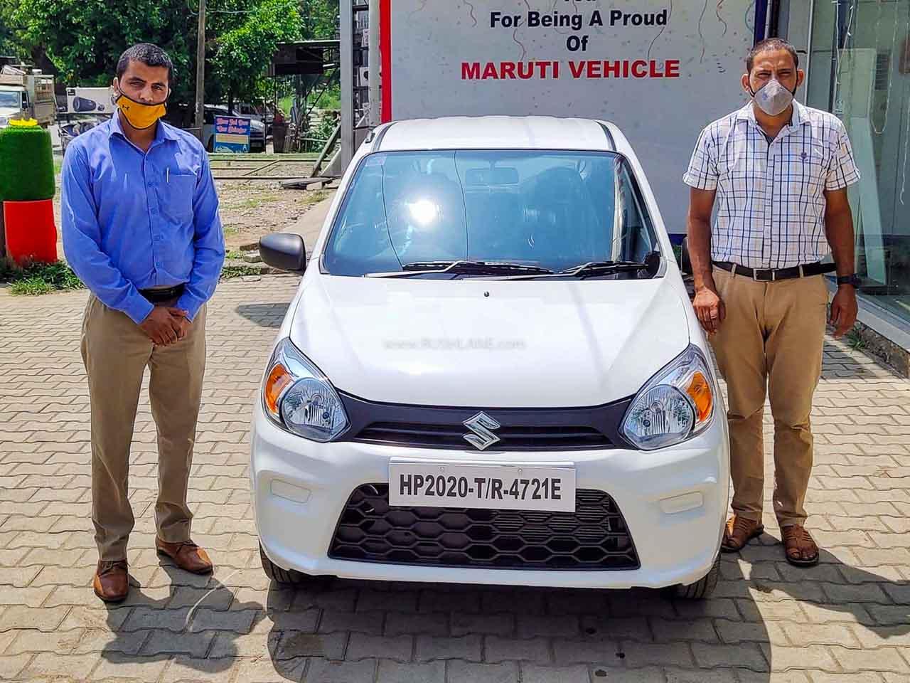 Maruti Alto July 2020 Sales