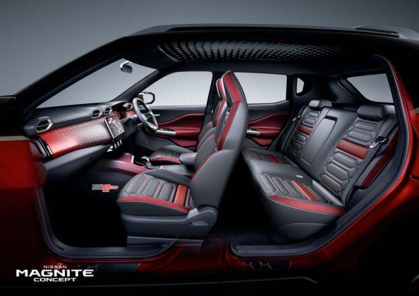 Nissan Magnite Interiors