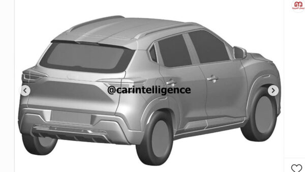 Nissan Magnite Patent Images