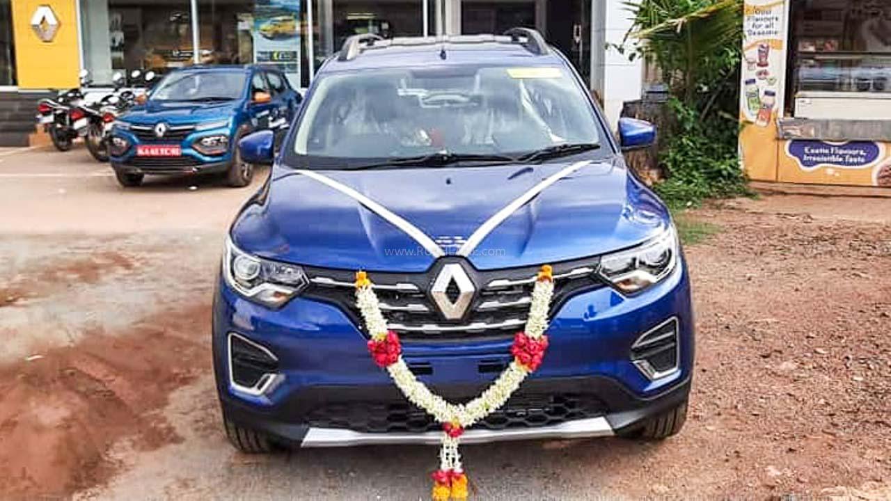 Renault Triber sales July 2020
