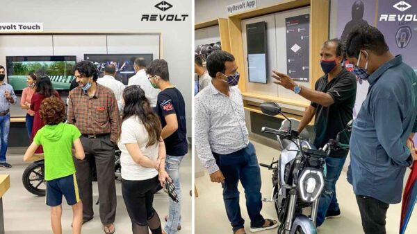 Revolt Electric Motorcycle Mumbai Showroom Opens