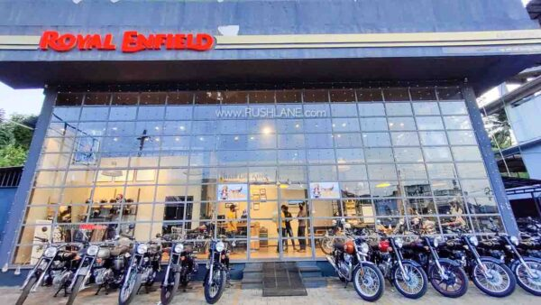 Royal Enfield delivery record