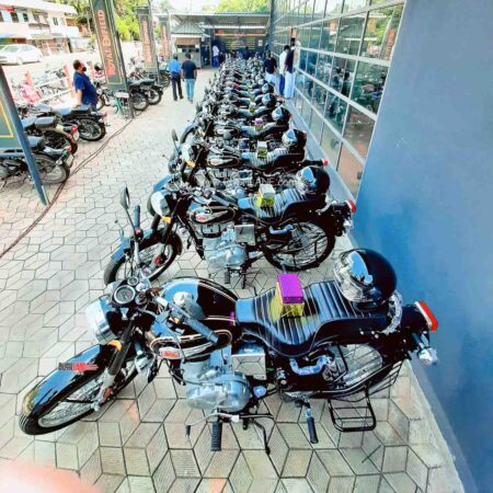 Royal Enfield delivers 1,000 motorcycles