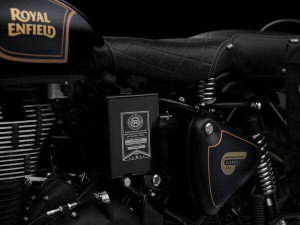 royal enfield tribute black 500