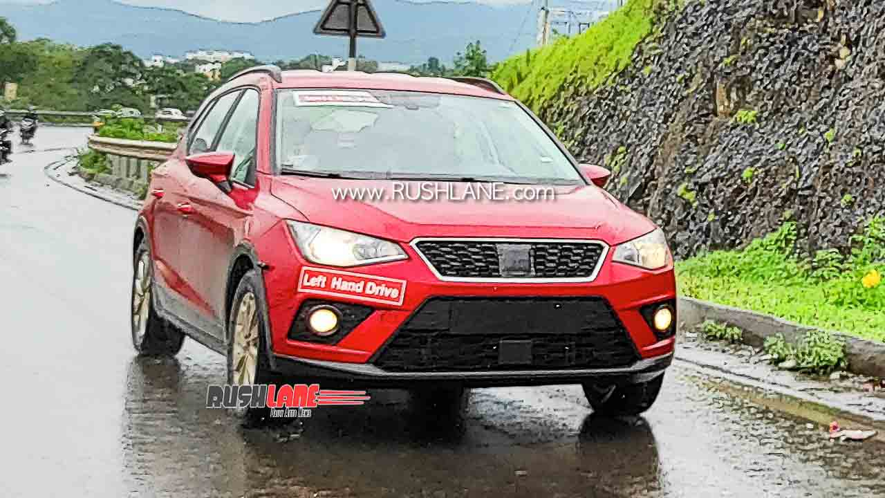 Seat Arona SUV spied in India