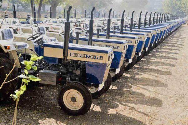 Tractor Sales July 2020