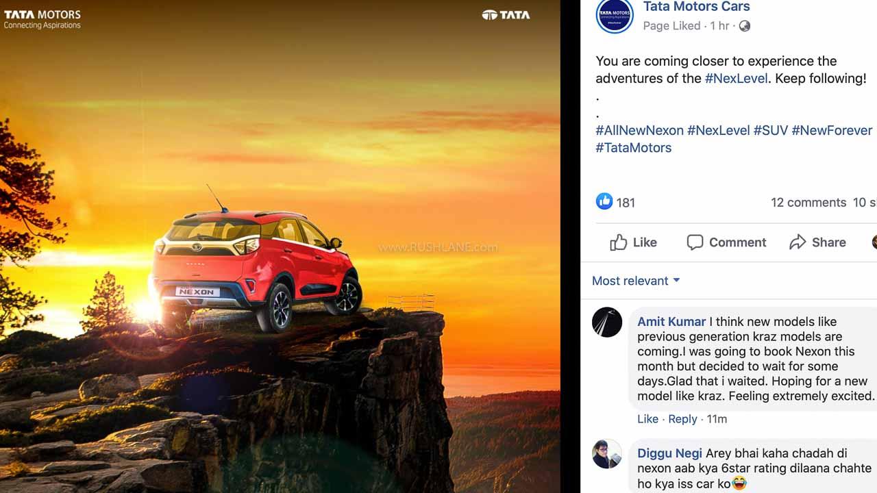 Tata Nexon DCT teaser