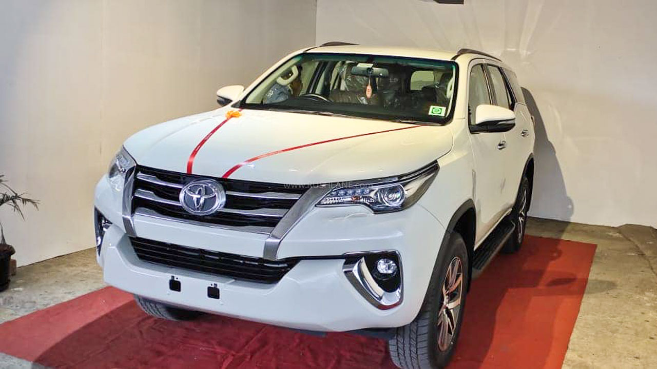 New Toyota Fortuner BS6
