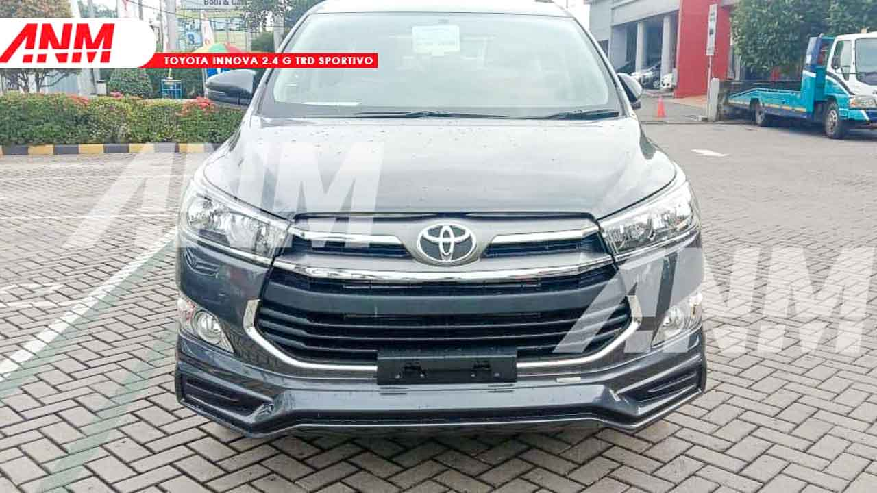 Toyota Innova Crysta TRD Sportivo Spied Undisguised Ahead of Launch - RushLane