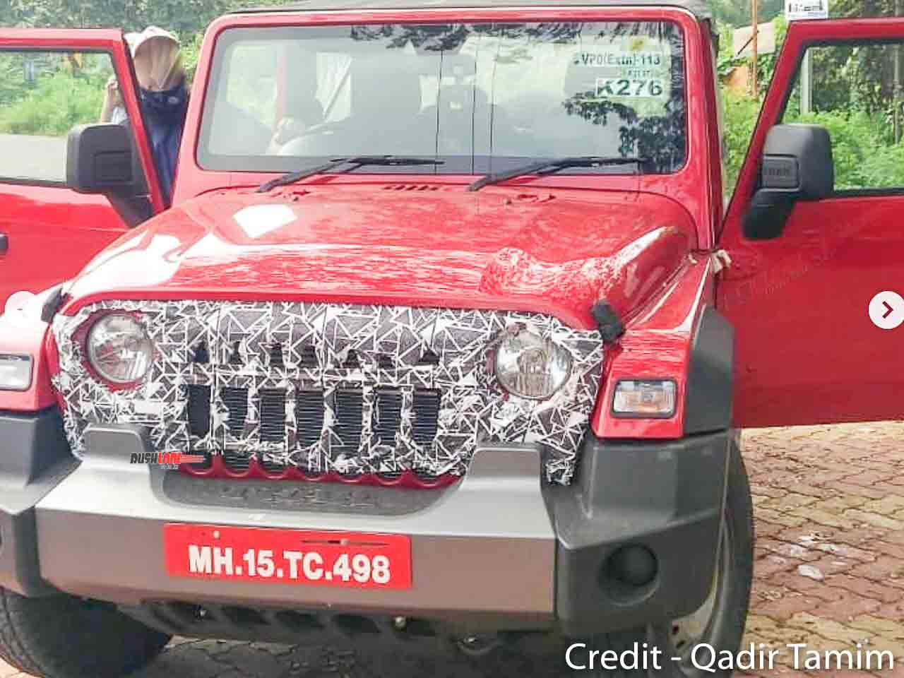 Mahindra Thar with Jeep grille