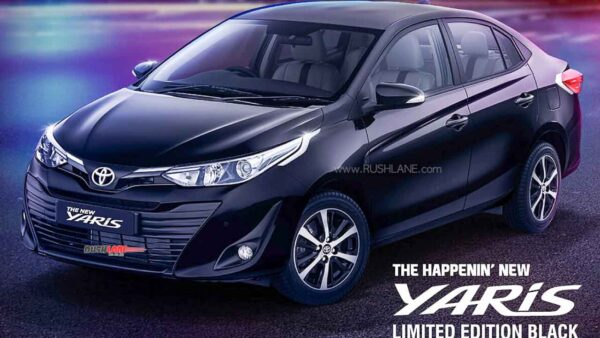 Toyota Yaris Black Edition