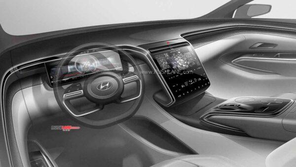 2021 Hyundai Tucson Dashboard