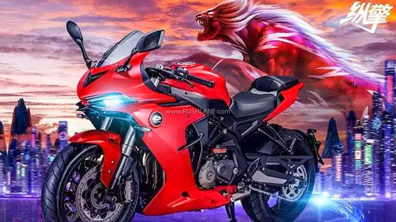 Benelli 600RR Fully Faired Sports Bike Debuts - India
