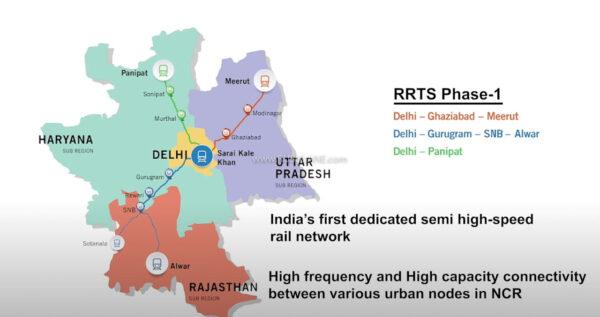 Delhi Meerut Train