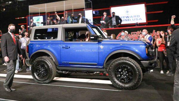 2021 Ford Bronco VIN001