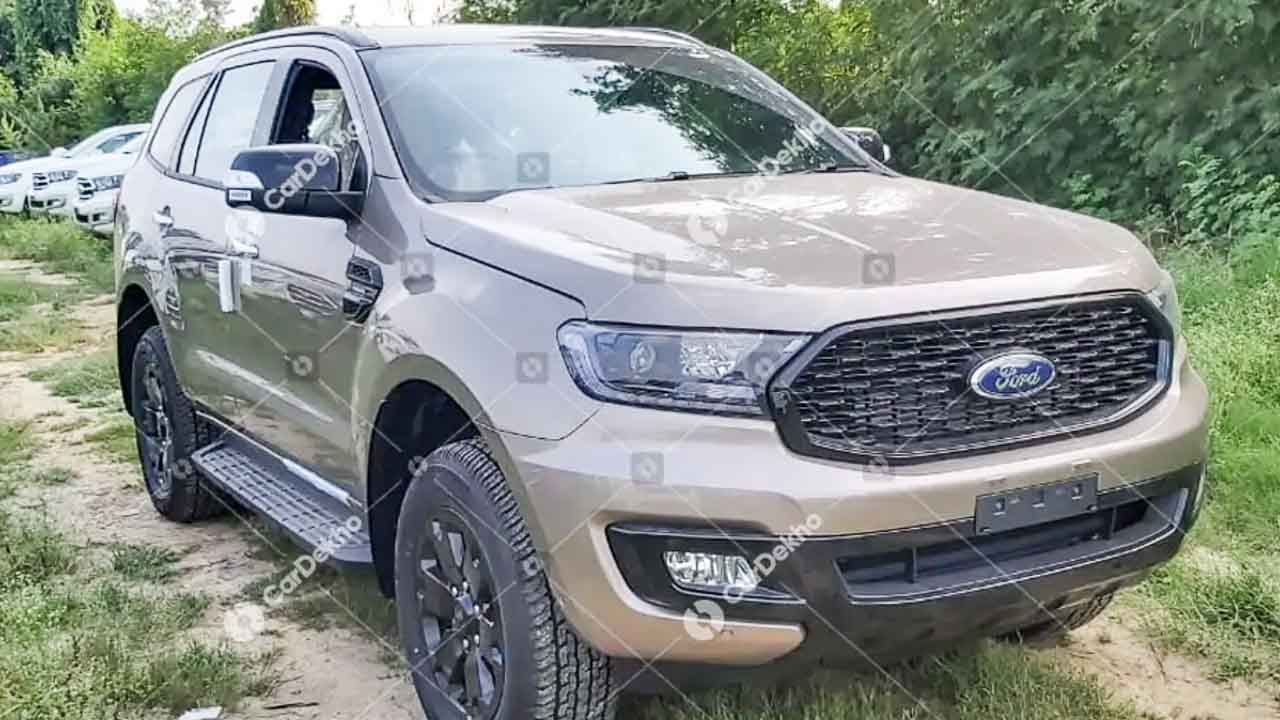 Ford Endeavour Sport India