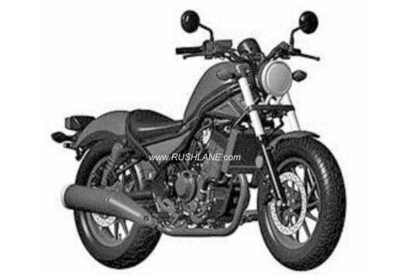 Honda Rebel Patented in India