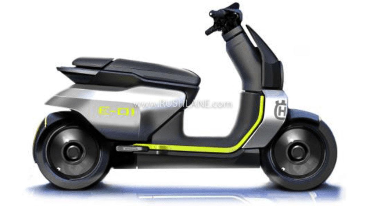 Husqvarna electric scooter