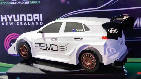 Hyundai Kona Electric Rally Race Car