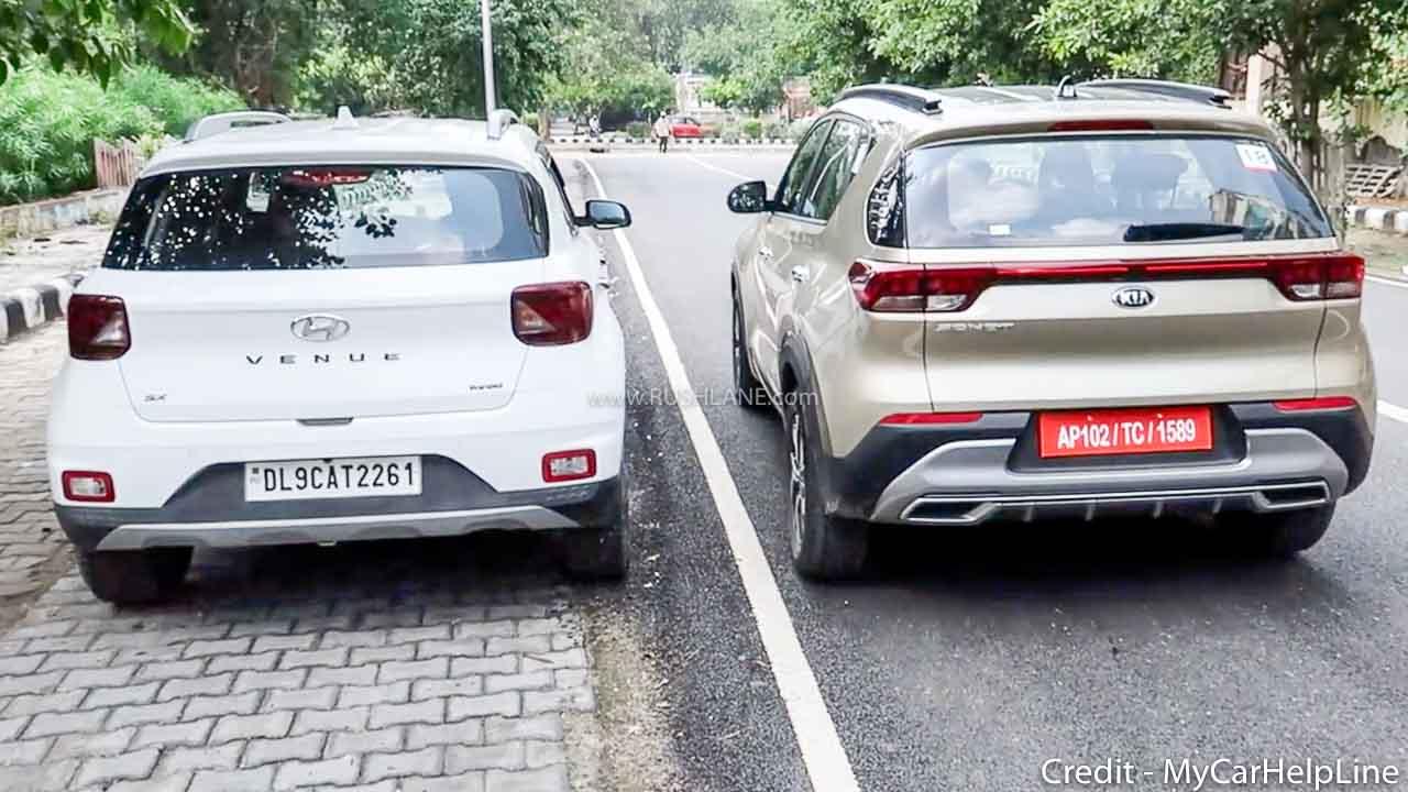 Hyundai Venue vs Kia Sonet