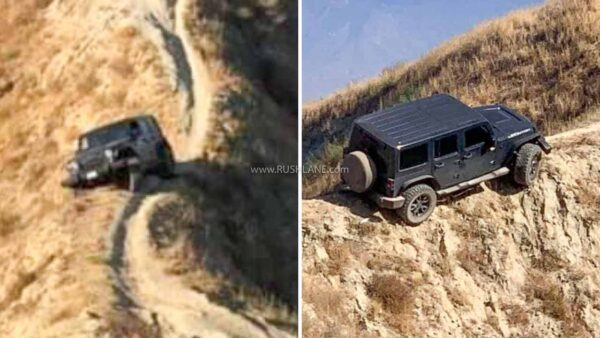Jeep Wrangler Rescued