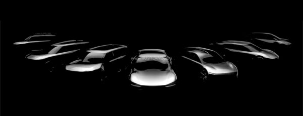 Kia teases 7 new Electric Cars