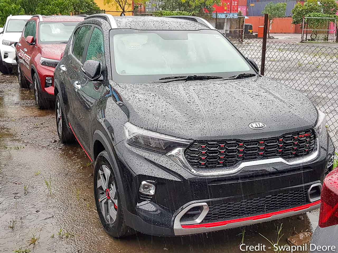 Kia Sonet GTX+ Diesel AT, Petrol DCT Price Revealed - Rs ...