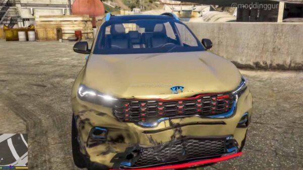 Kia Sonet GTA V debut