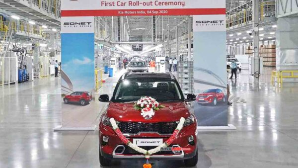 Kia Sonet Production Starts in India