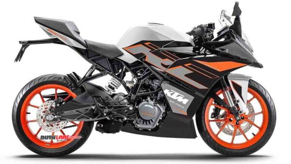 KTM RC 125 New Colour - Dark Galvano