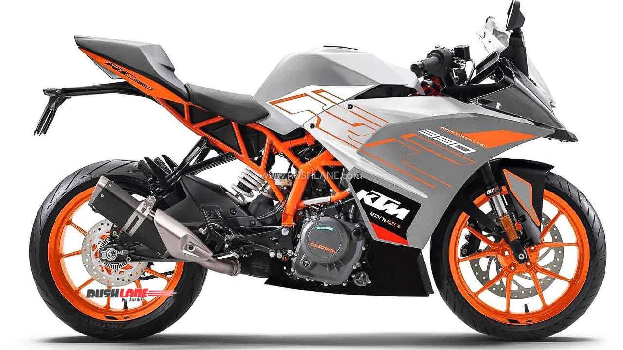 Ktm Rc 125 200 390 New Colours Launched Galvano Orange Silver