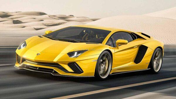 Lamborghini Aventador 10k