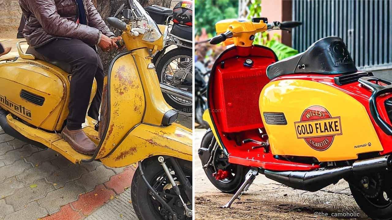 Lambretta Scooter Modified