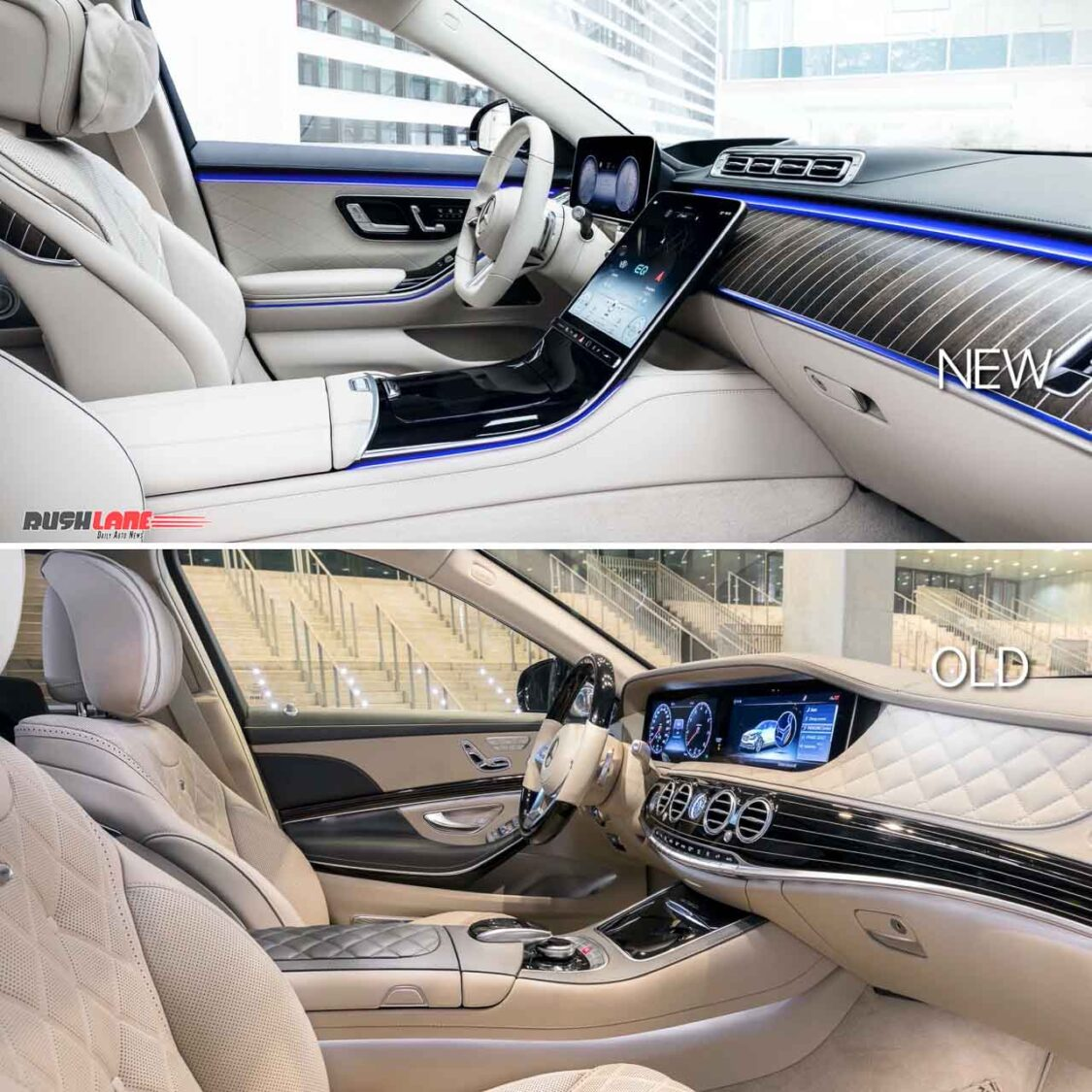 Old vs New Mercedes S Class