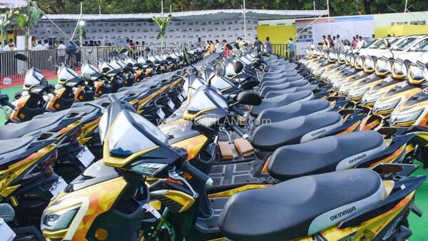 Okinawa Electric Scooter Sales Target