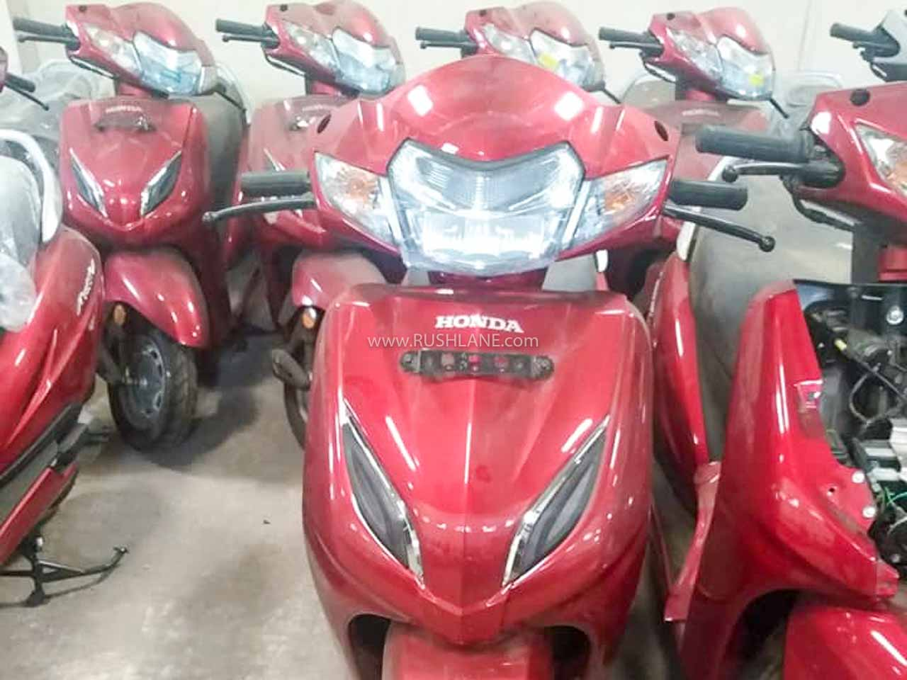 Old Honda Activa scooter