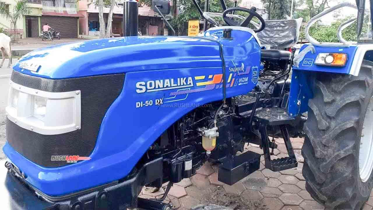Sonalika Tractor Sales Aug 2020