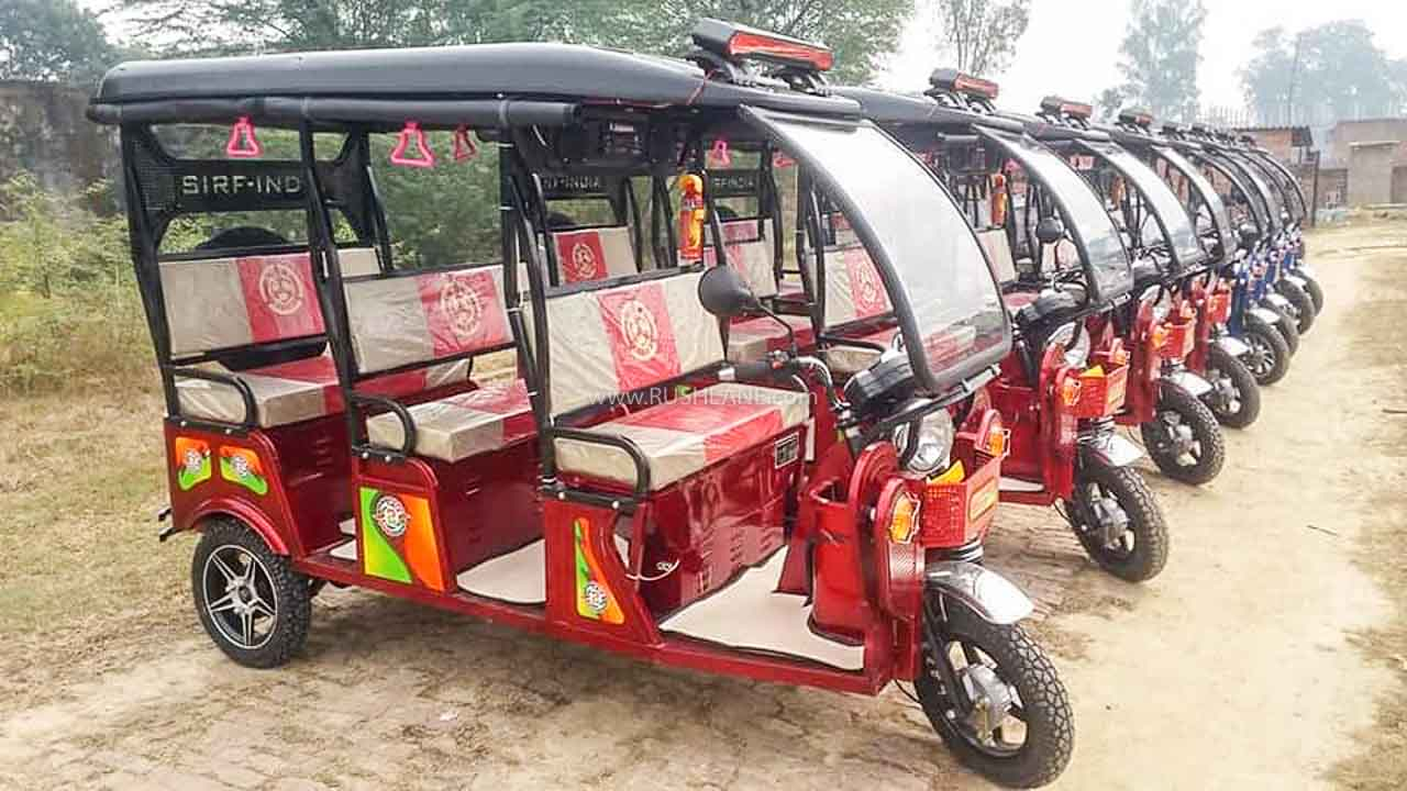 Rickshaw sales Aug 2020