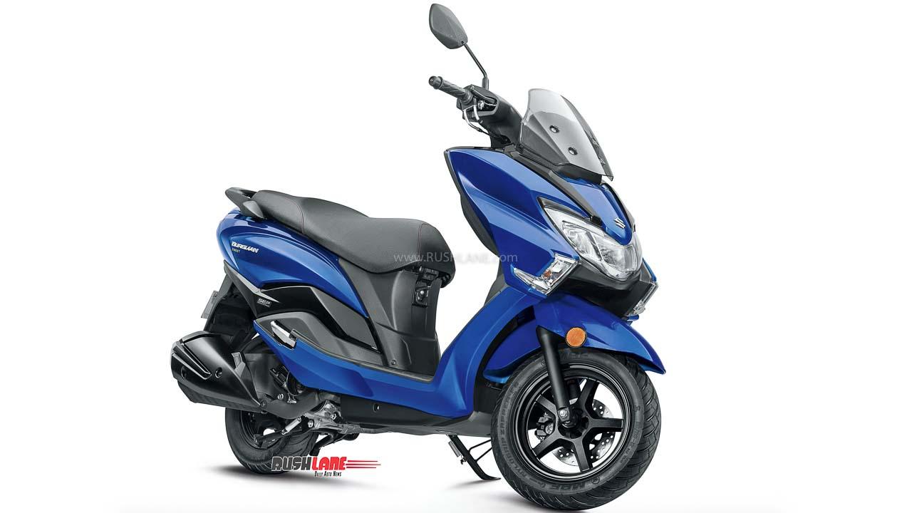 Suzuki Burgman Blue