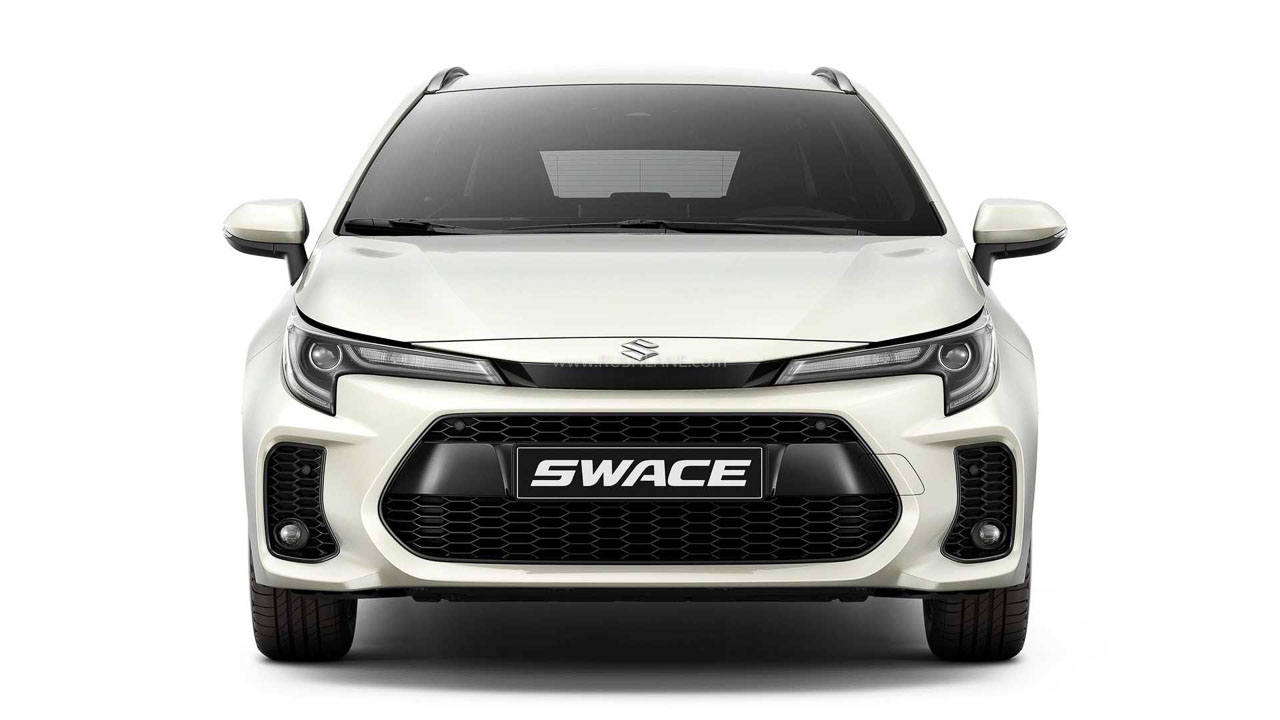 Toyota Corolla Rebadged Suzuki Swace